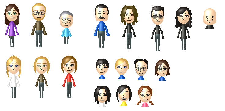 Anime Mii Characters 3ds : Fma ds mii collection by pain the homunculus on deviantart
