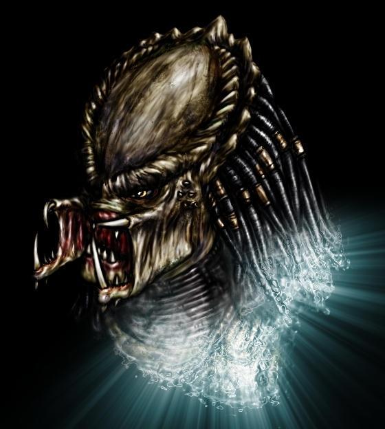 The Predator Colored by LordLazarusX