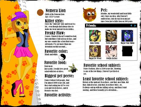 MH profile: Nemera Lion