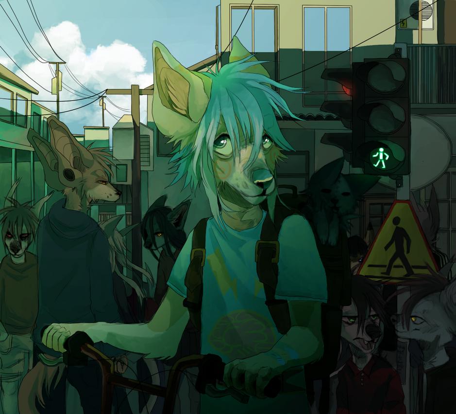 rush hour by ev-oo