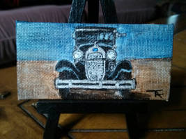 Model A Mini Painting (SOLD)
