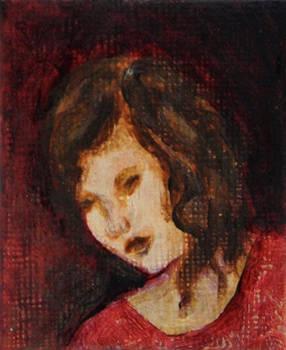 Quietude - Miniature Painting