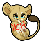 Chibi Lion YCH [Multiple Slots Open] by Karibu99