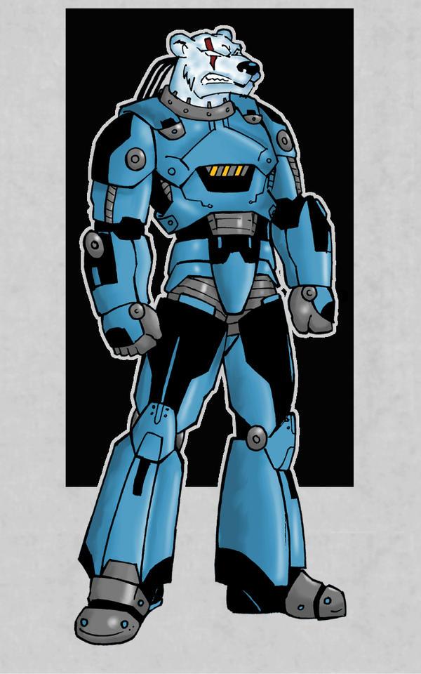 Cyber Bear Sub-Zero by AnoZero