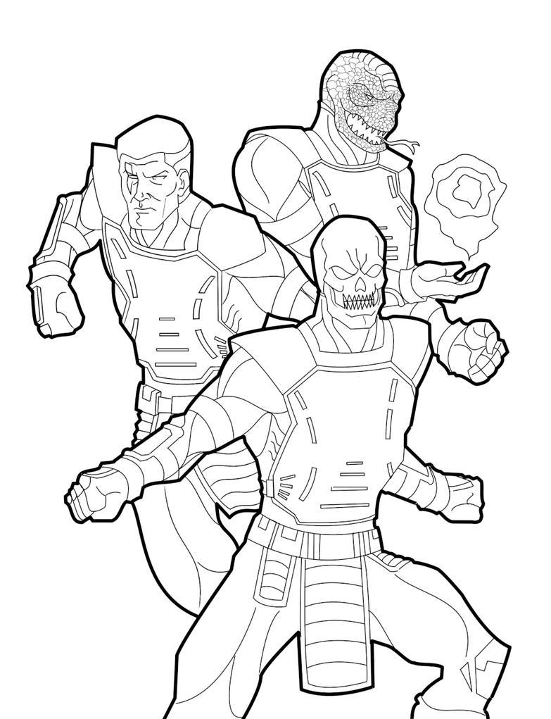 Mortal Kombat - Project CyBeR M.U.G.E.N. by AnoZero