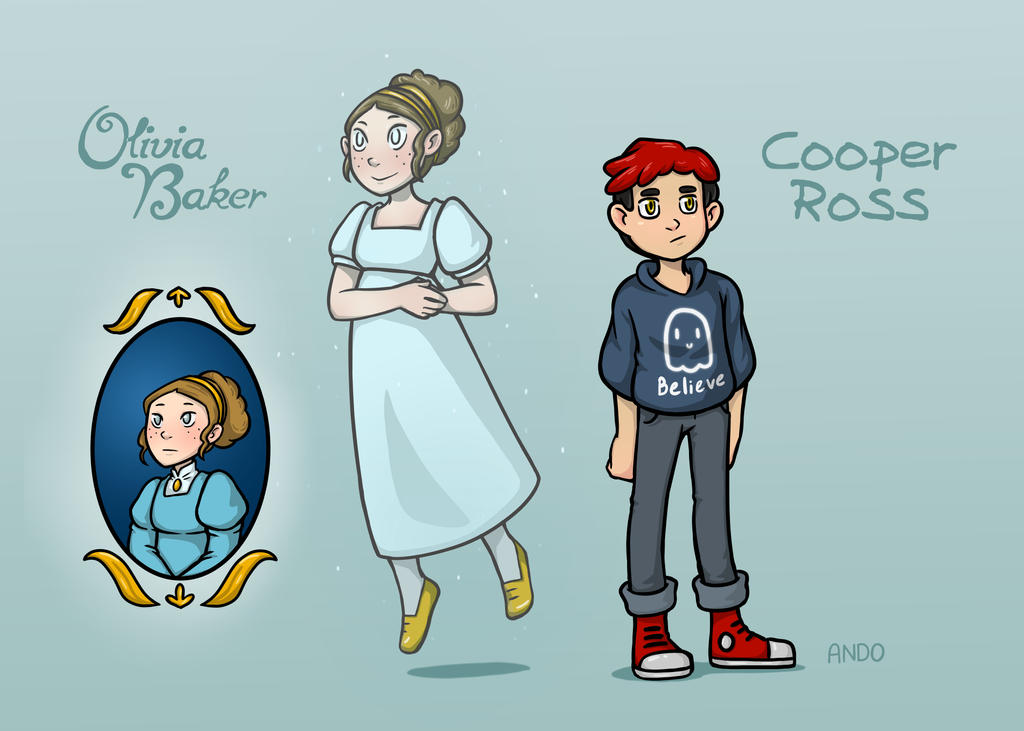 middle school medium main character designs by draw out loud on