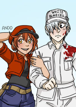 Cells at Work (Doodle)