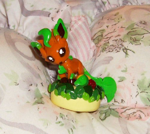 Layer Cake Artist : Shiny Leafeon One Layer Cake by LaPetitLapearl on DeviantArt