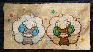 Whimsicotts Play Cross Stitch by LaPetitLapearl