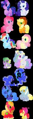 My Little Pony: FIM by LaPetitLapearl