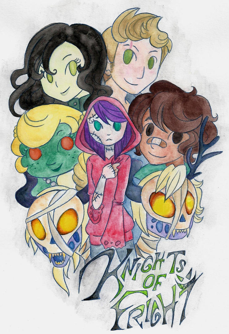 Knights of Fright by LaPetitLapearl