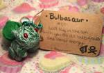 #001 Blubasaur Voodoo Doll