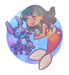 MerMay: Little Mermaid Lilo by LaPetitLapearl