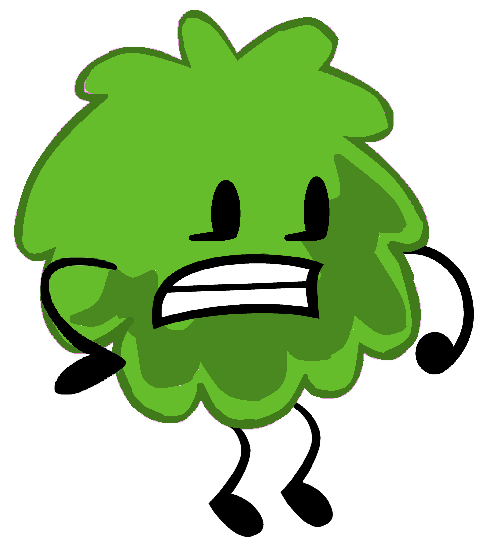 my bfdi charactergreen puffball by cpgreeno357 on deviantart
