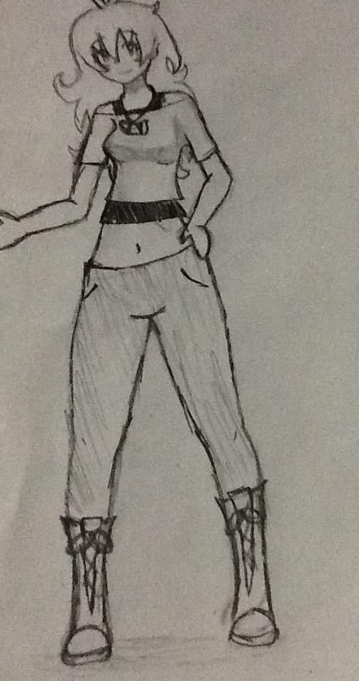 Tricera sketch by Blue-Lusa