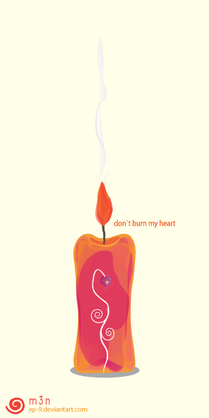 Do not Burn My Heart . by xp-9