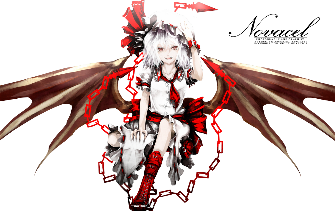 Partage de renders Touhou_render_002_by_holichii-d4pf7a3
