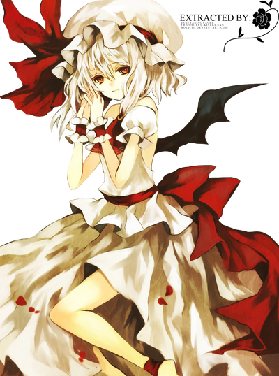 Lisette's renders _render_vector__mudai_ft__remilia_scarlet_by_hina_by_holichii-d5841rd
