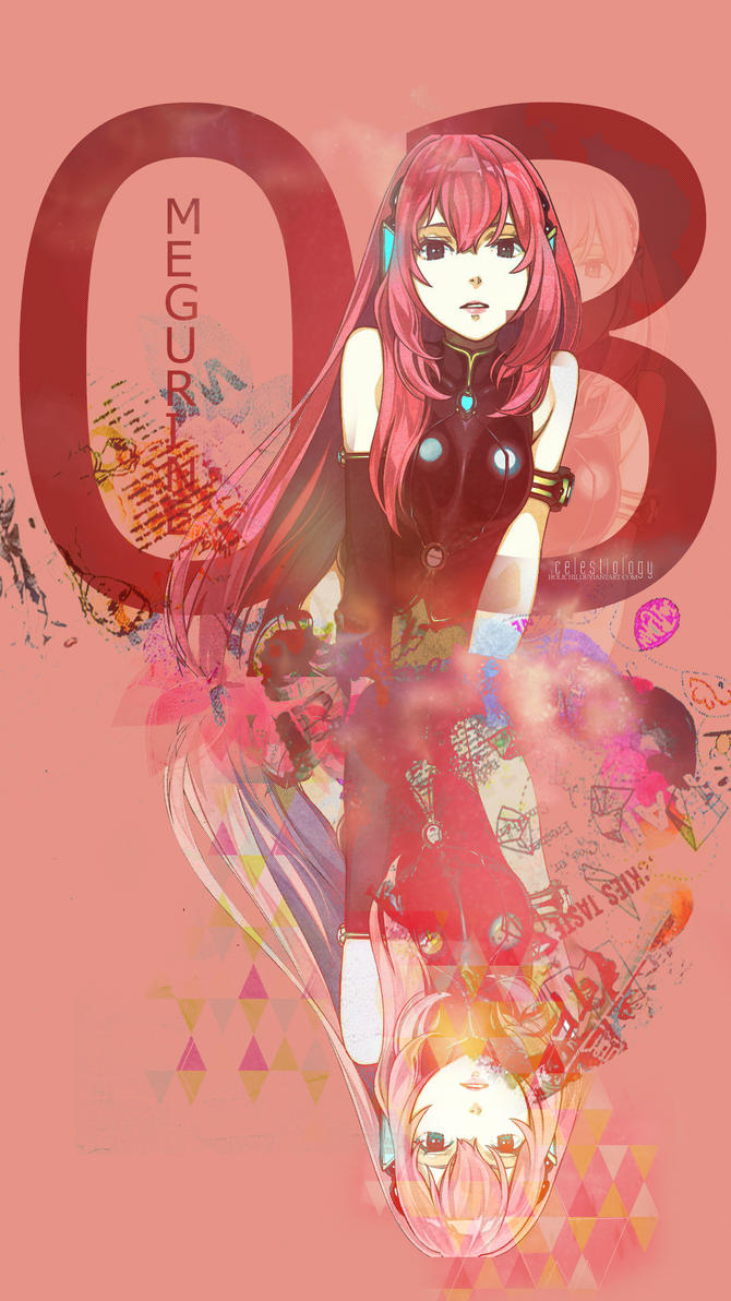 03 Vocaloid Megurine Luka Cellphone Wallpaper By Holichii