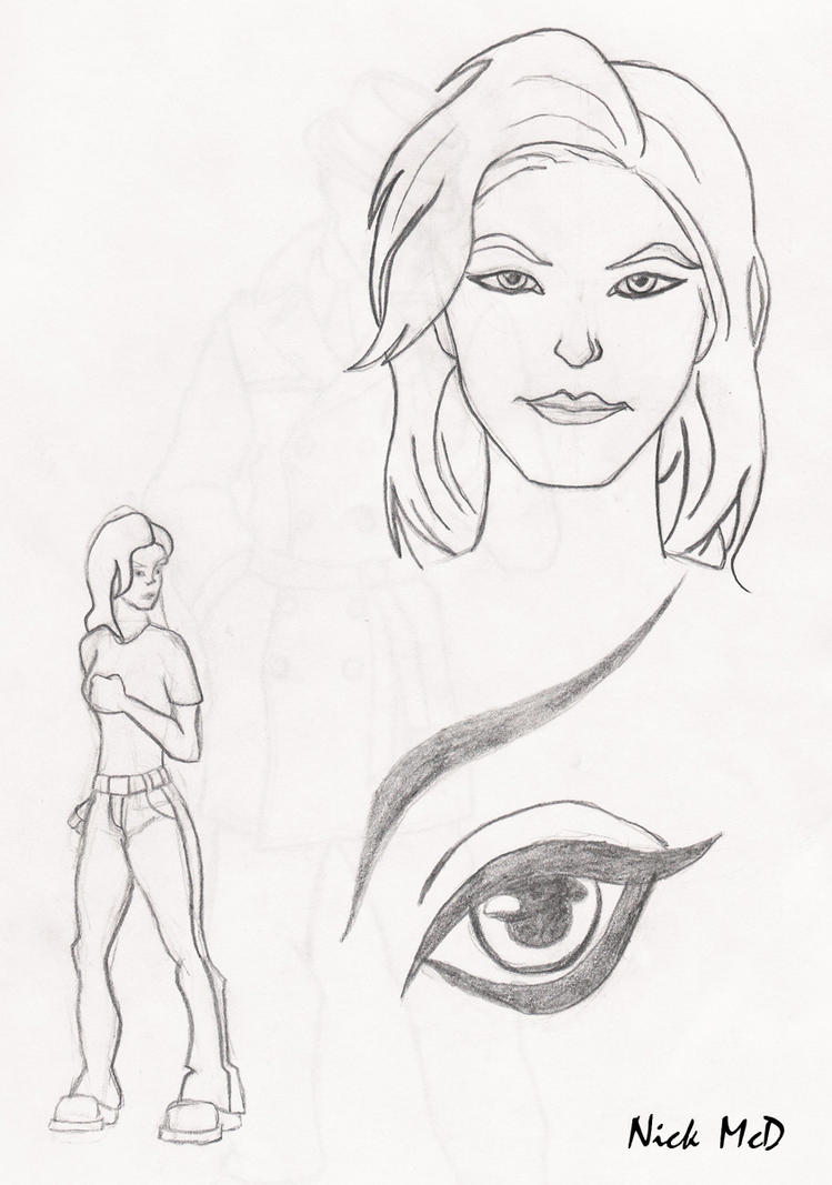 Character study 2 by Nick-McD