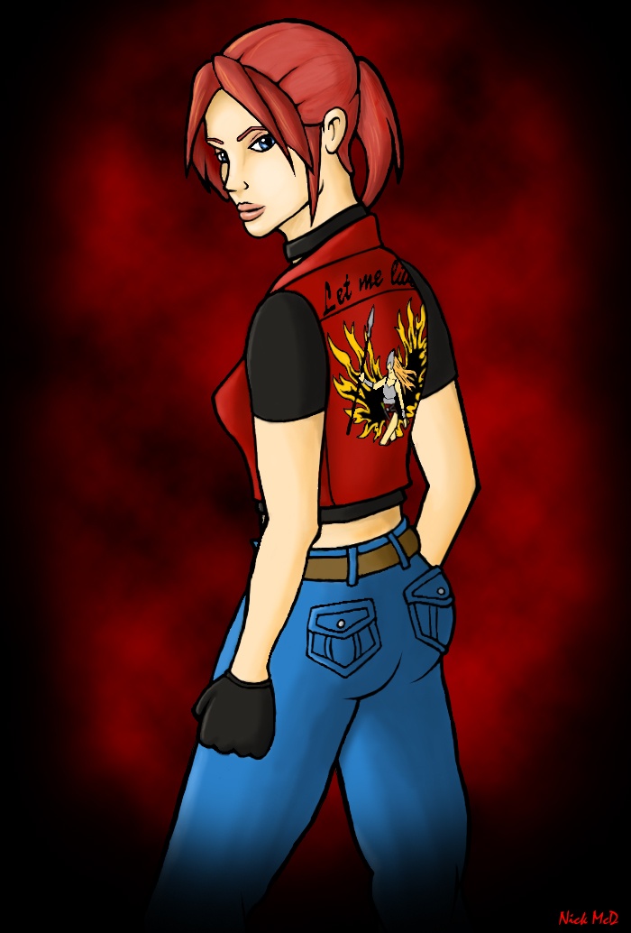 Claire Redfield by Nick-McD
