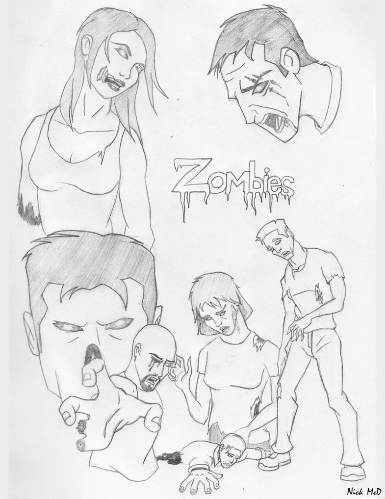 Zombies by Nick-McD