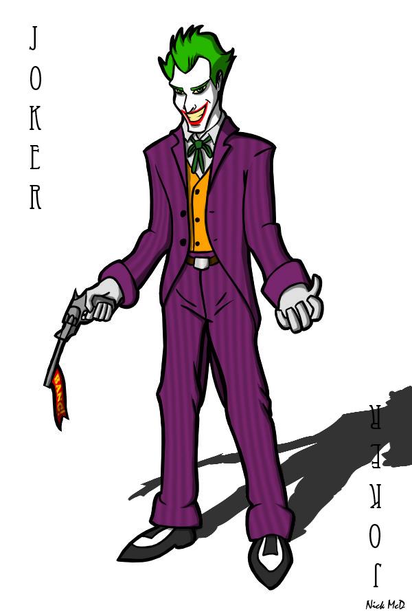 The Joker by Nick-McD