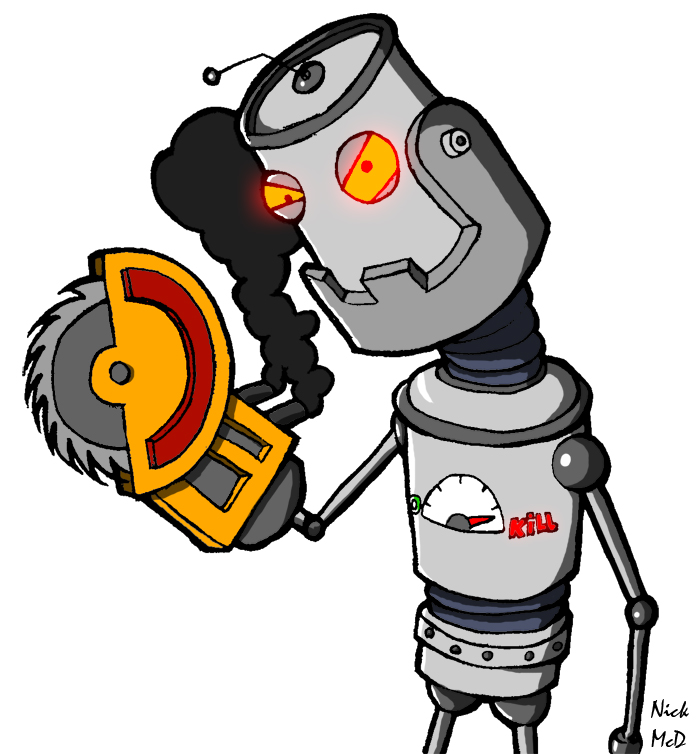 Killer Robot by Nick-McD