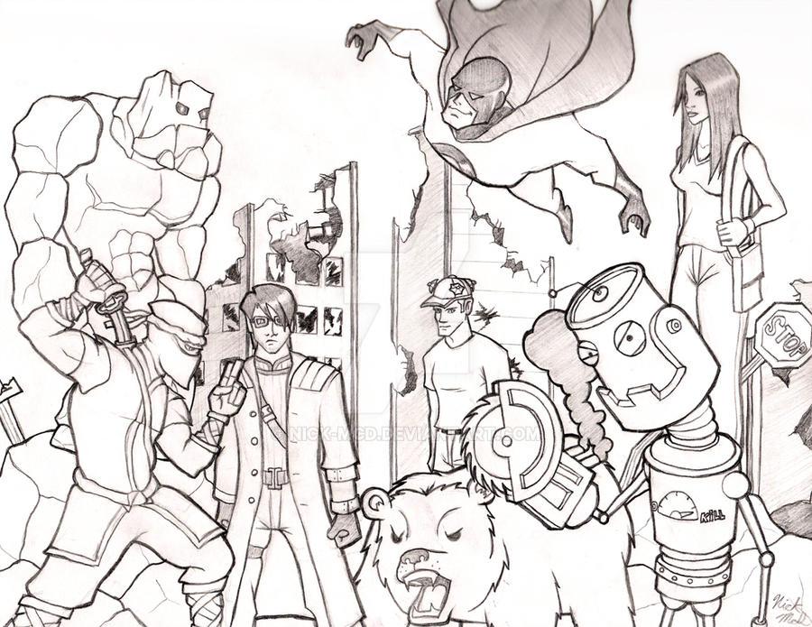 Random Characters by Nick-McD