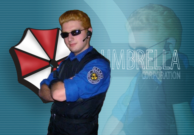 Wesker Costume by Nick-McD