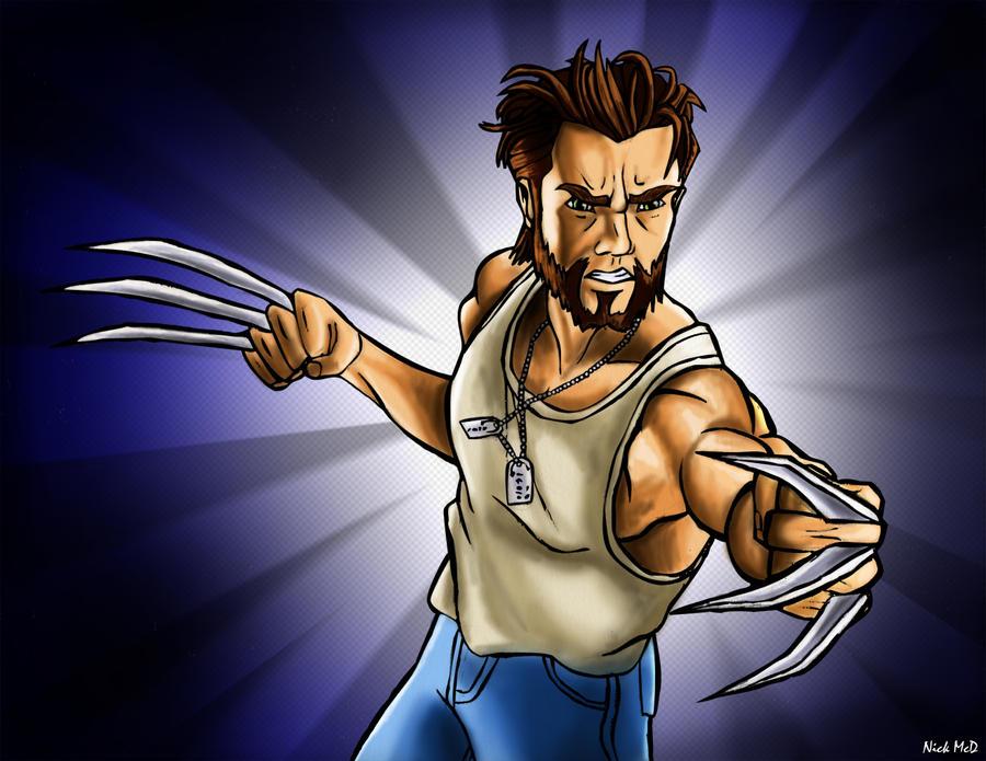 Wolverine by Nick-McD