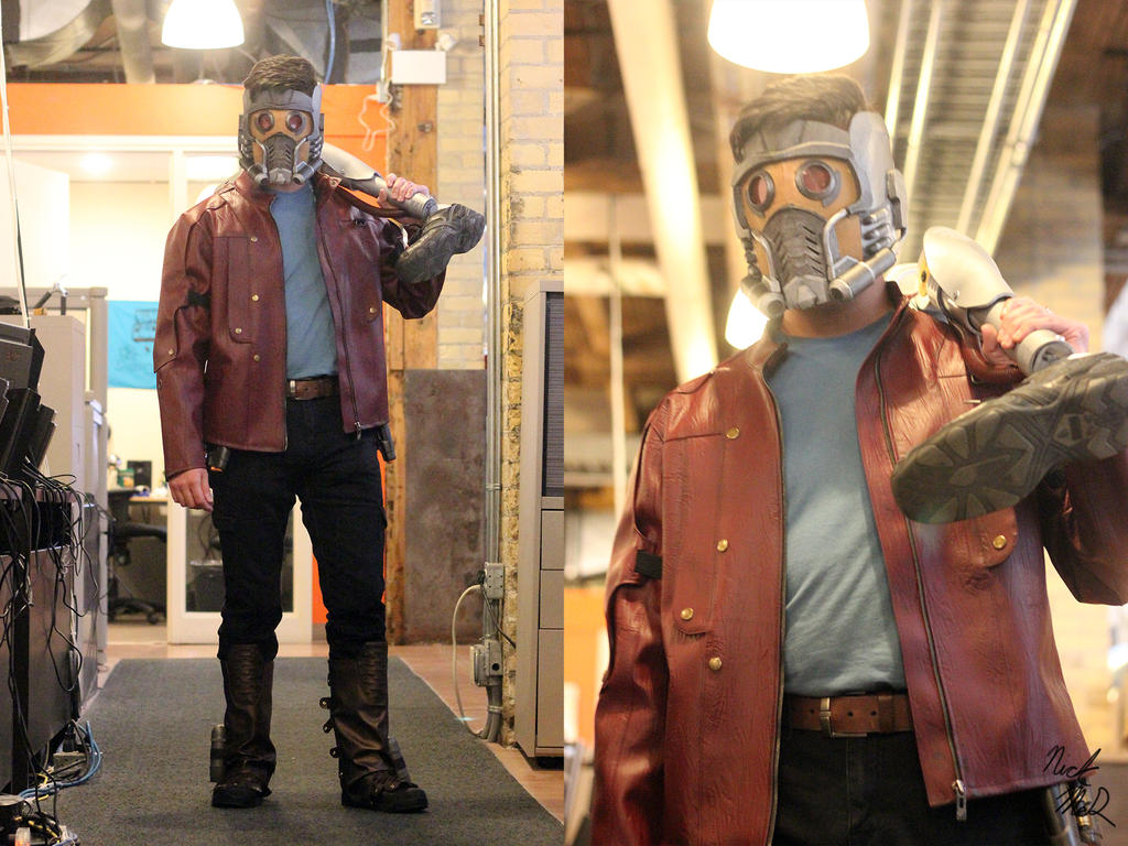 Star-Lord Costume by Nick-McD