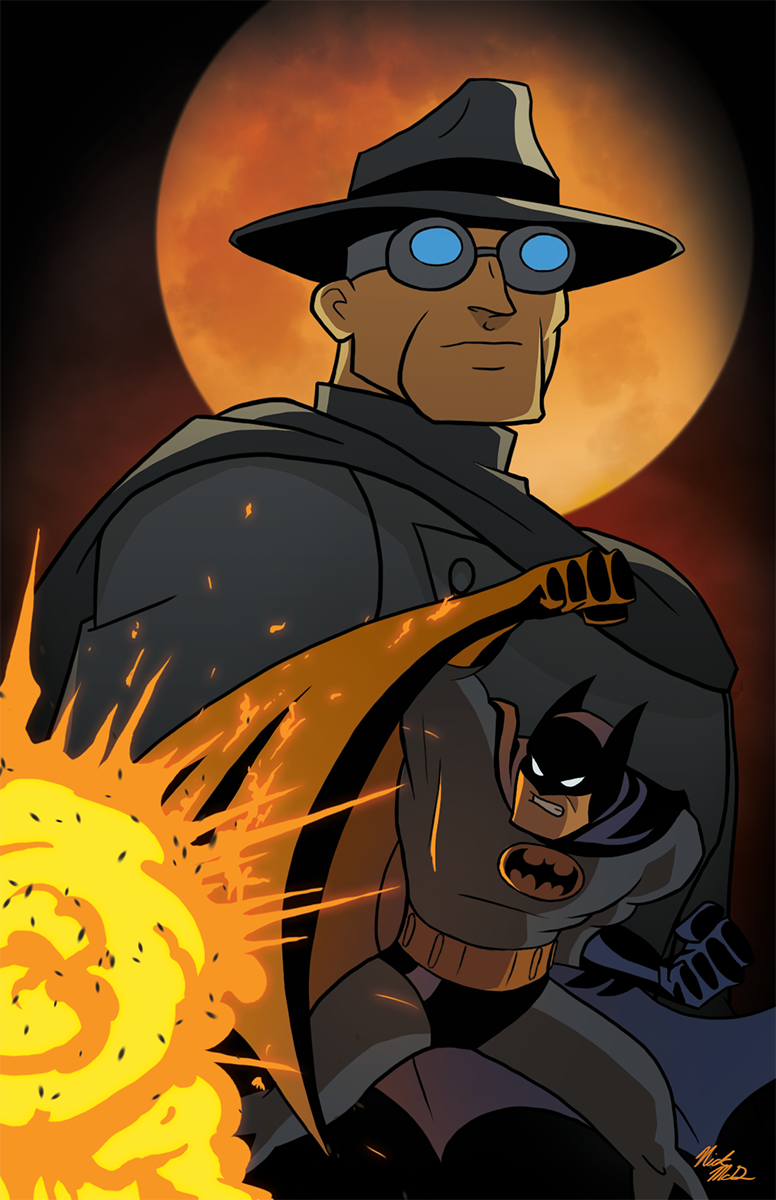 Batman Beware The Grey Ghost by Nick-McD