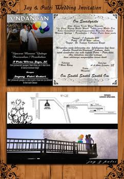 Jay-Putri wedding invitation