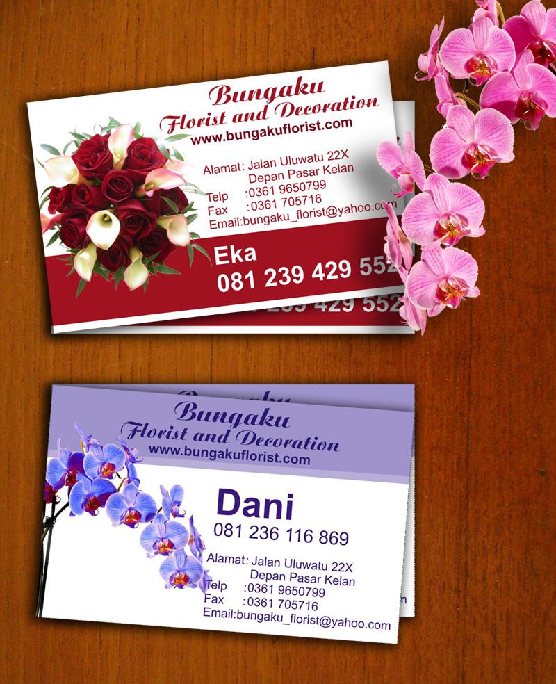 Florist business card by ekajulyana on DeviantArt