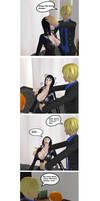 Nami and Robin hypno comic 24: Master control