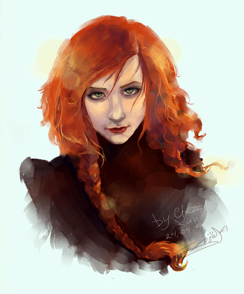 Redhead by Cheza-Kun