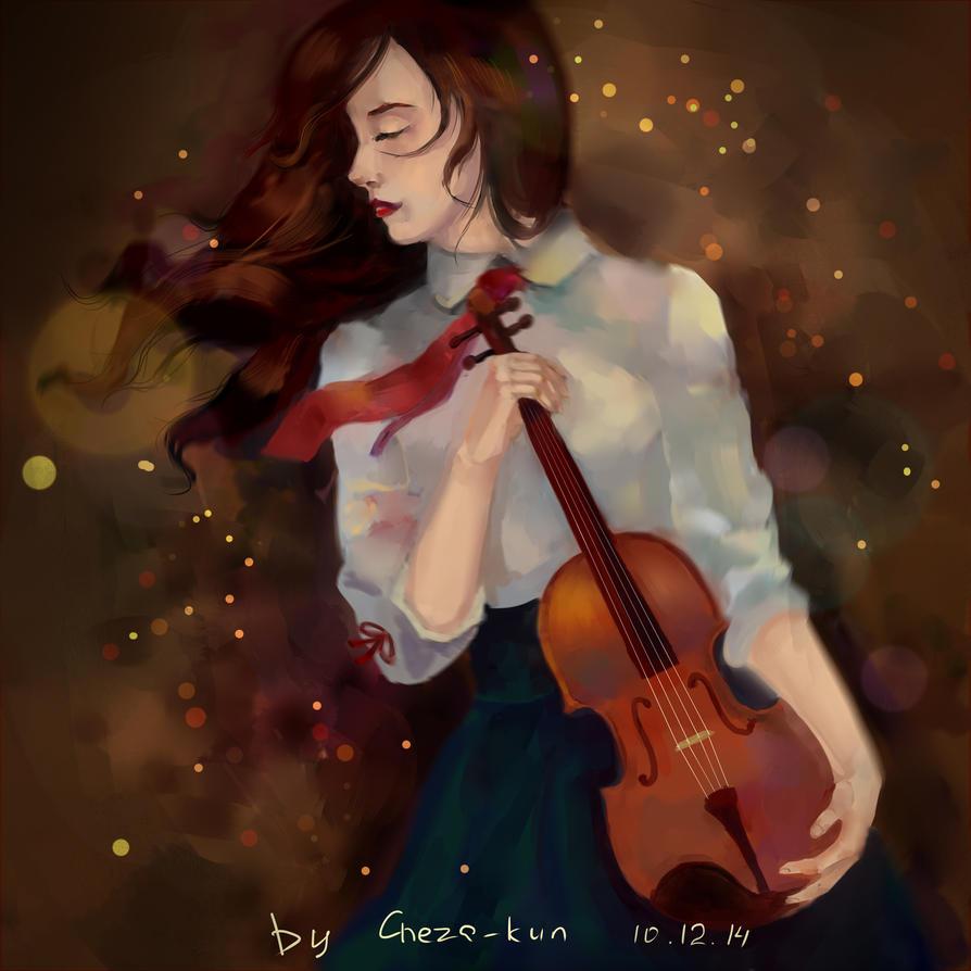 violin by Cheza-Kun