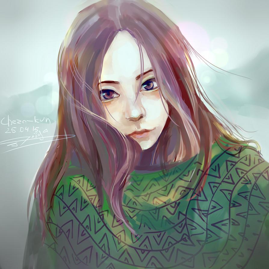 Coldly by Cheza-Kun