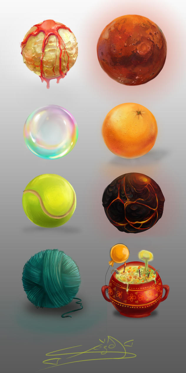 Material sphere by Cheza-Kun