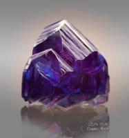 Violet crystal by Cheza-Kun