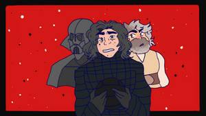 star wars: the last jedi animation meme!