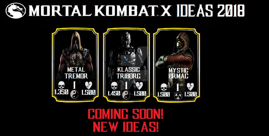 Mortal kombat x mobile ideas (FAKE) by timka5530219 on