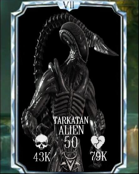 Mortal kombat x mobile tarkatan alien (fake) by timka5530219 on