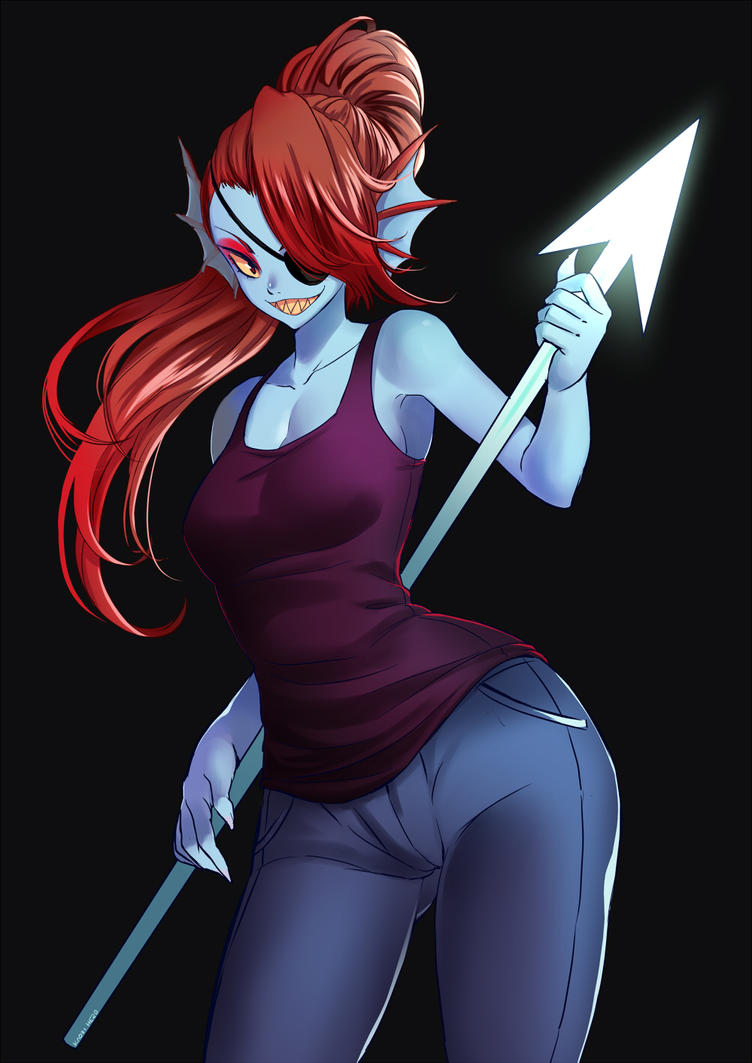 Undertale Undyne by mayaflare