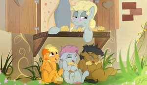 Happy time full of muffins! by Rutkotka