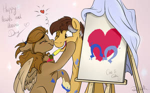 Happy Hearts and Hooves Day! by Rutkotka