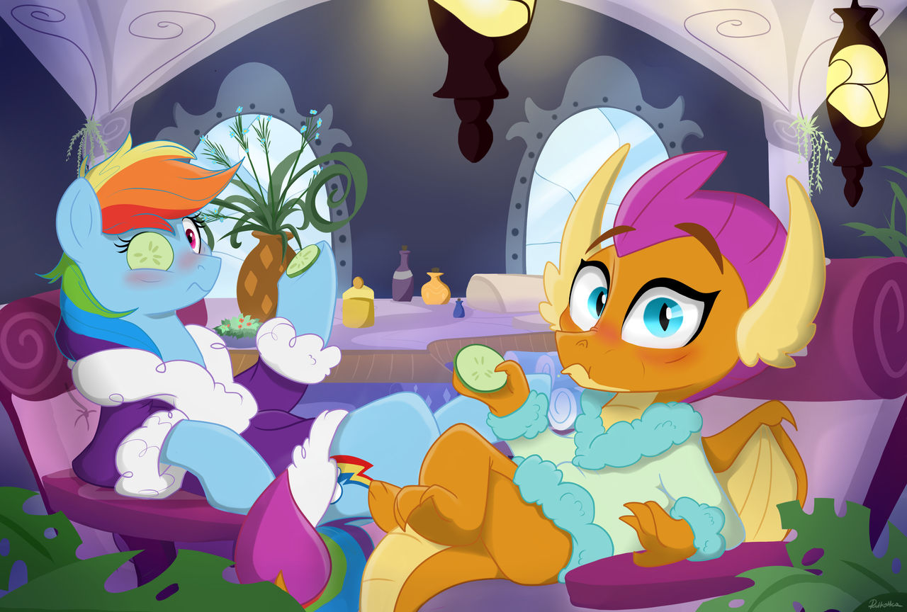 dashie_and_smoulder_caught_at_the_spa__b