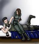 Chris and Jill xD