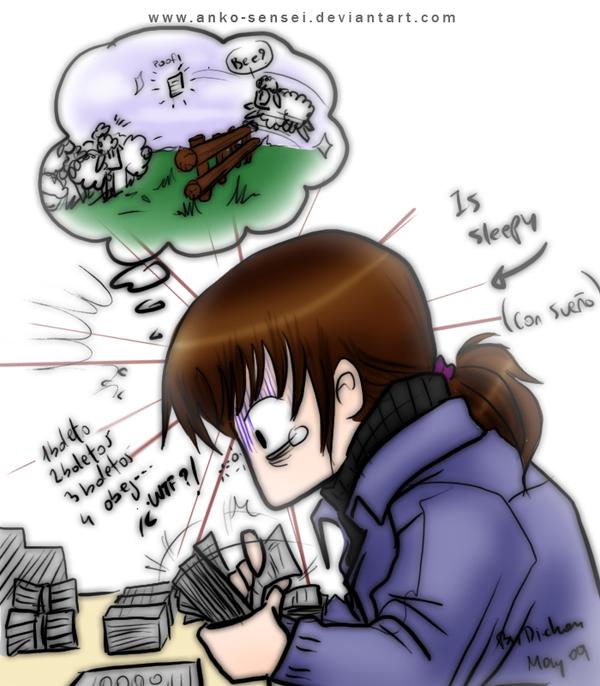 Me at work... WTH xD by Anko-sensei